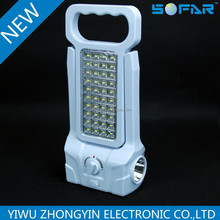 80SMD+1W plastic led hand-held/portable emergency light,led camping lantern