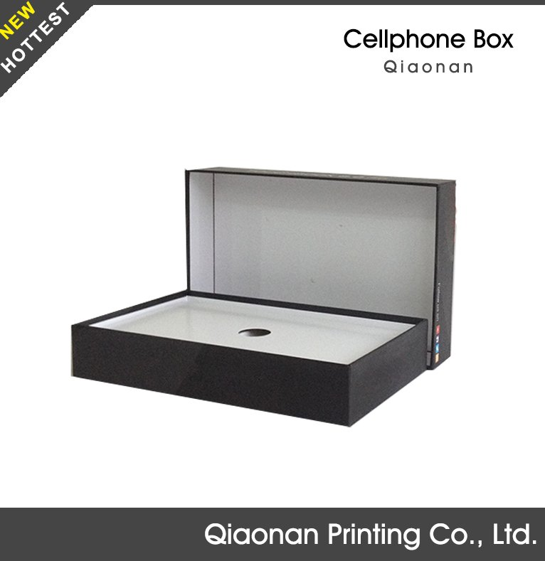 Square Paper Cell Phone Packaging Box/Cell Phone Retail Box/Mobile Phone Unlock Box