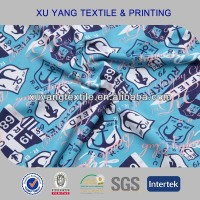 polyester spandex high quality swimsuit fabric wholesale