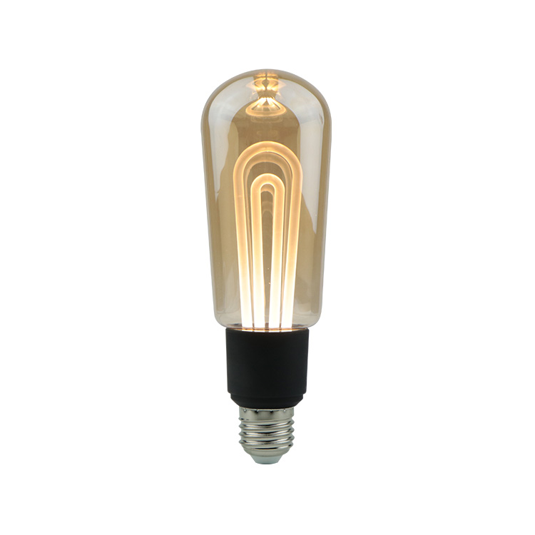 New product 2019 Led light T60 led bulbs golden lantern led filament light