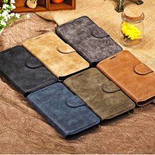 vintage retro genuine wallet leather case for samsung galaxy s4 i9500