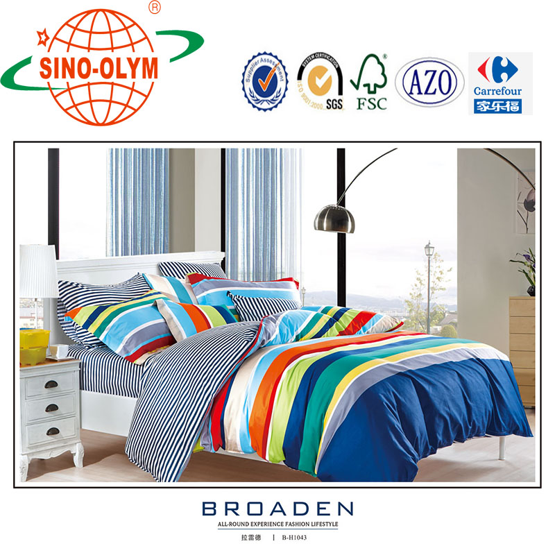cotton reactive printing health softtextile latest bed sheet designs