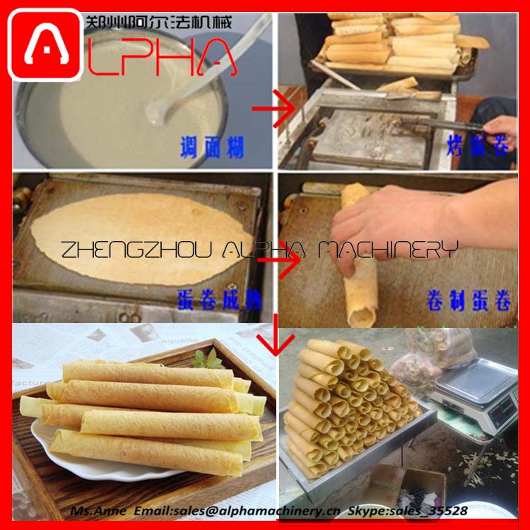 egg roll making machine