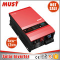 2017 New function hot sale 4KW-12KW solar power inverter price in africa market