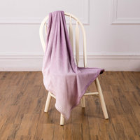 Luxury polyester sherpa blankets full queen standard size