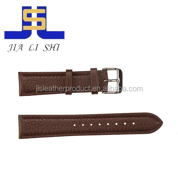 2017 high quality 18mm watch strap leather in wholesale price
