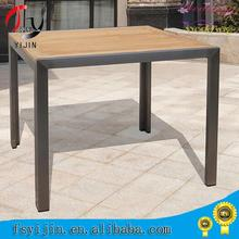 New Style Rattan outdoor Spainish style wooden stainless steel bar stool