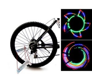32 Led Bike Spoke Light Road Bicycle Wheel Lights 4 Colorful 32 Pattern Road Bike Light