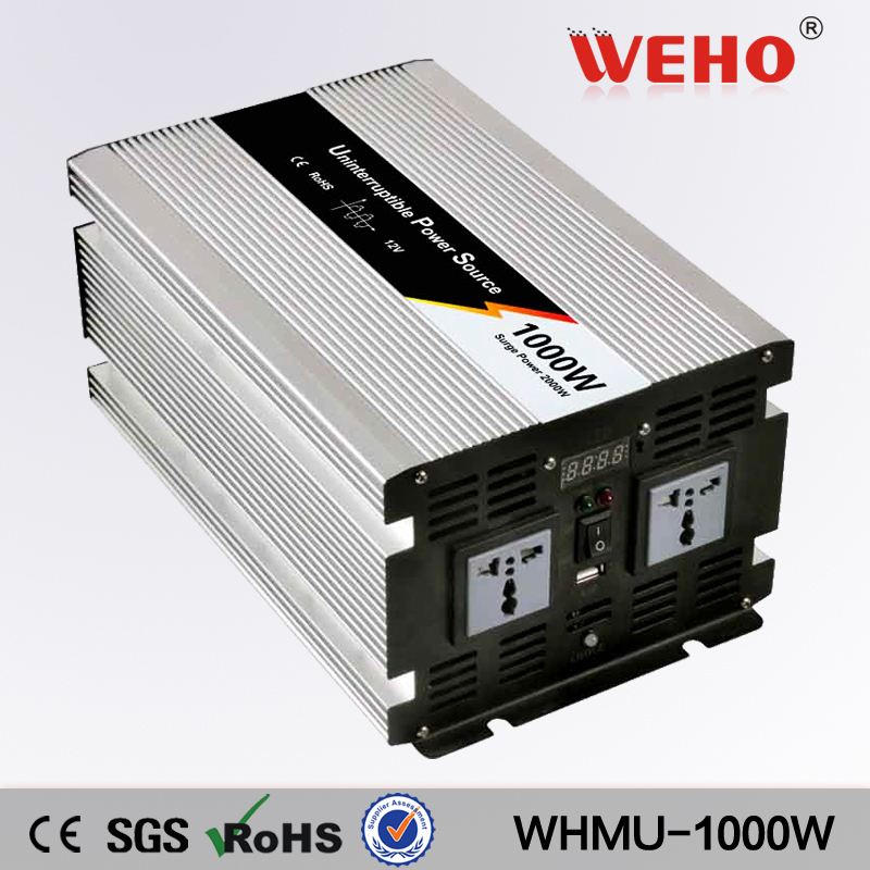 Factory directly selling 12vdc to 110vac 1000w inverter battery charger