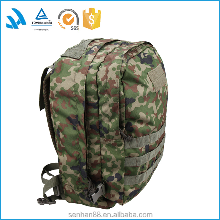 2015 China Manufacture Custom Military Solar Outdoor Camping Travelling Backpack