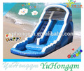 kids slip pool promotion water pvc tarpaulin with air blower inflatable children