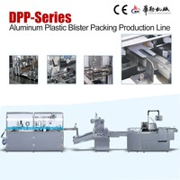 Pharmaceutical packaging equipment full automatic blister packing machine line