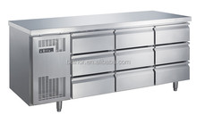 TC0.4N9W 9 Drawers Refrigerated Chef Base