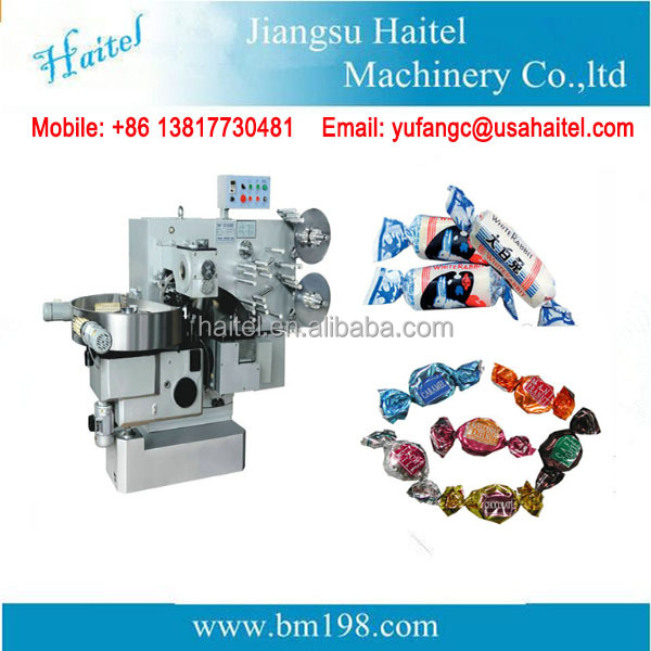 Double Twist Candy Packing Machine / Candy Wrapping Machine