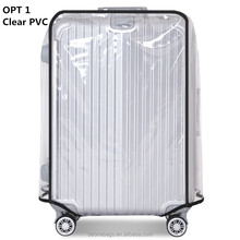 Clear Thicken PVC Travel Luggage Case Cover Waterproof Luggage Protective Cover Wholesale