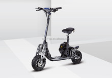 2015 Hot EVO Uberscoot folding 2 wheel mini gas motor scooter with CE/EPA certificate