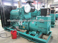 250KW/312.5KVA Diesel Generator set powered by Cummins engine