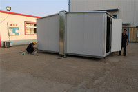 Luxury modern container south prefabricated folding container house with accessories