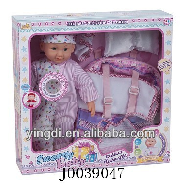 "18"" Doll set vinyl baby dolls wholesale children baby doll"