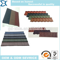 Asian style roof tile/steel tech roofing/step tile roof