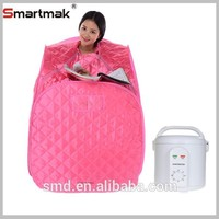 fold sauna bs-9005 modern design Portable Therapeutic Steam Sauna SPA Full Body Slim Detox Weight Loss Indoor