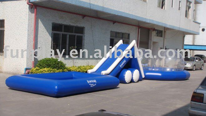 2013 Inflatable water slide