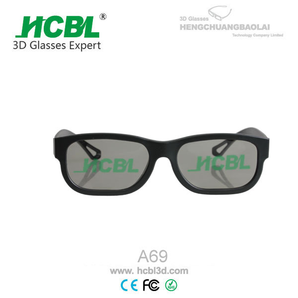 xnxxx low price plastic Linear polarized 3D glasses cinema