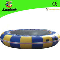 cheap inflatable water trampoline