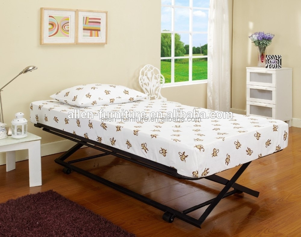 Metal Day bed(Daybed) Frame&Pop Up Trundle