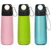 2015 insulated 300ml 11oz stainless steel thermos bottle drinking tumbler water tumbler with carabiner
