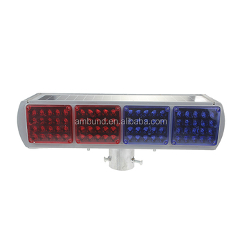 SWL-A33-002 IP67 Road safety solar powered led traffic strobe light