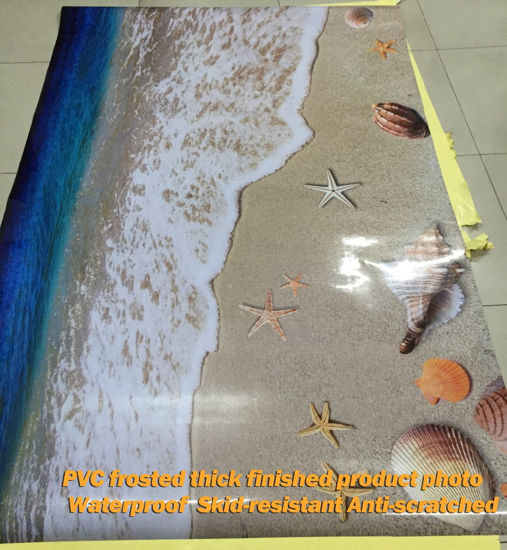 3D Ocean floor sticker