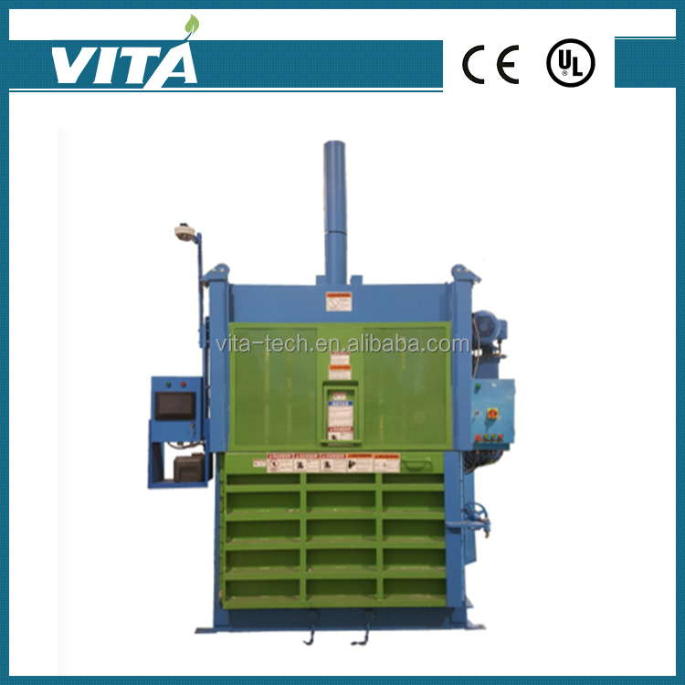Vertical Recycle Packing Smart Interface Fully Auto Baler