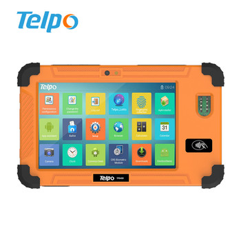 Telpo TPS450 Waterproof Android Rugged Tablet Fingerprint Machine with NFC