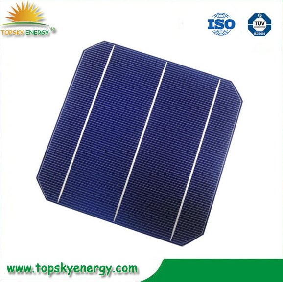 wholesale Taiwan 156mm*156mm mono solar cells, mono crystalline cells in bulk quantity
