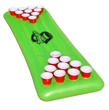 Inflatable Swimming Pool Beer Pong Table And Pong Beer Cooler