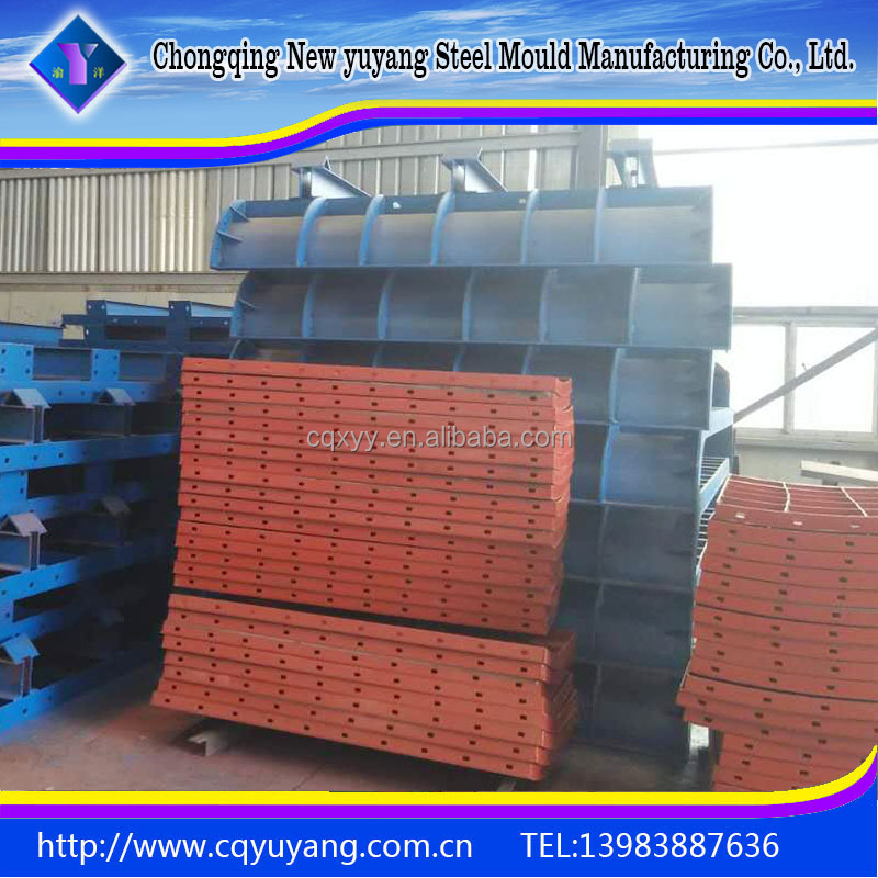Construction formwork Internal and external mold for hollow thin-walled pier