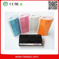led torch light power bank 5600mah, external storage battery