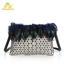new 2016 purses handbags angedanlia guangzhou Trendy handmade unique new design bags ethnic style