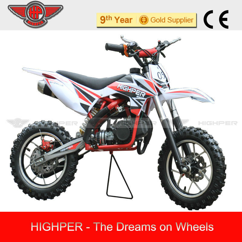 2013 Reliable and safety 2013 New 2 Stroke 49cc Mini gas Dirt Bike motorcycle for Kids