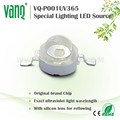 Vanq 1W 3W UV led 365nm for nail uv led lamp 1 finger