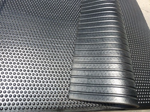 2m wide ribbed truck rubber mat rubber stable mat