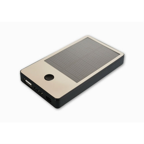 Cellevo Solar Portable Battery 4000mAh for Apple iPad/iPhone & Smartphones (5V/1A Output)