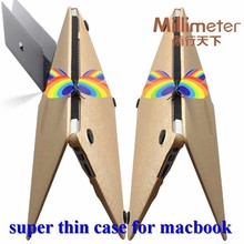 Super quality newest plastic hard case for macbook pro 13.3
