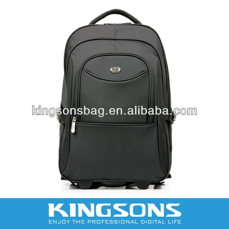 "2014 New Arrival 15.6"" 1680D Nylon Notebook trolley backpack bag K8380W"