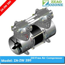 China factory mini oil free noiseless air compressor for oxygen generation device