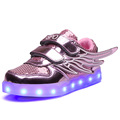 Hot sale children sport shoes with lights