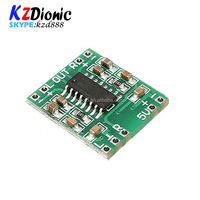 Kzdionic01 Freeshipping PAM8403 module Super board 2 * 3W Class D digital amplifier board efficient 2.5 to 5V USB power supply