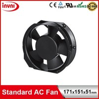Standard SUNON 171mm 171x151 Exhaust Axial Flow Best Performance Round Fan 110V 115V 100V AC 171x151x51mm (A1175-HBL TC.GN)