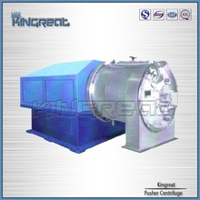 Advanced easy operate salt dewatering type pusher centrifuge for salt plant